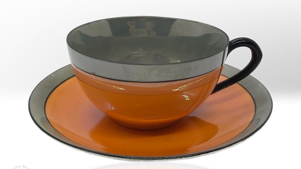 Art Deco Kahve Fincanı