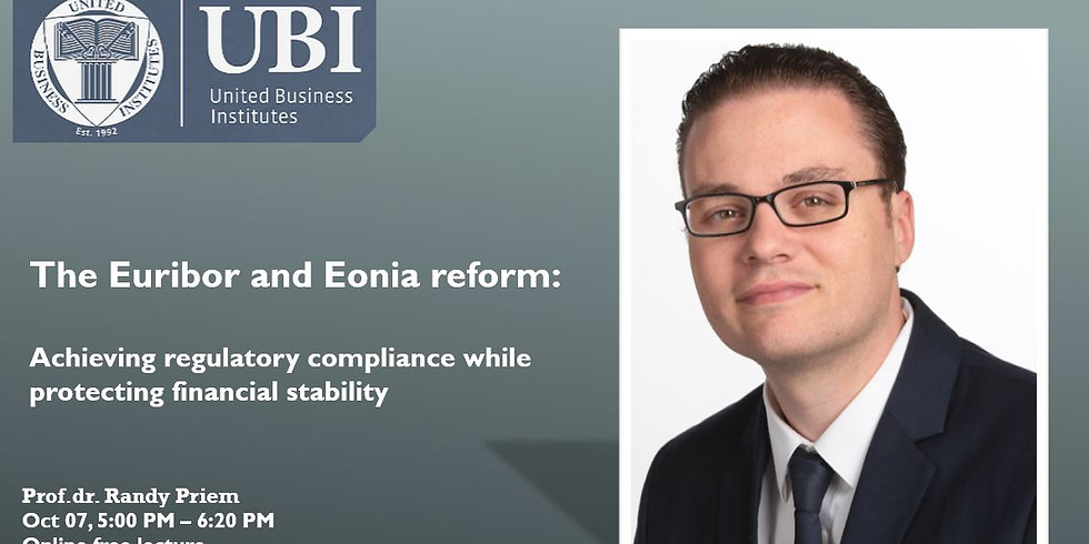 Achieving regulatory compliance while protecting financial stability: the Euribor and Eonia reform