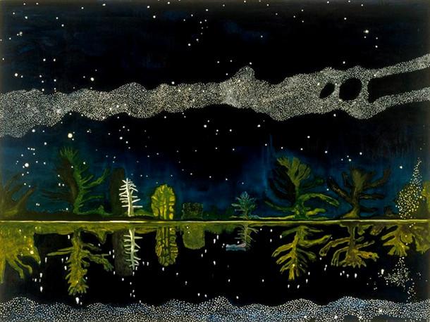 Voie Lactée Peter Doig