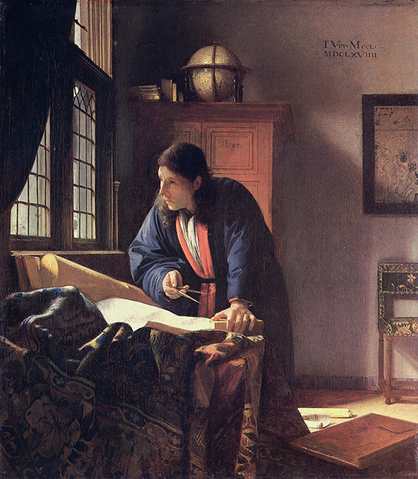 Le Geographe de Vermeer