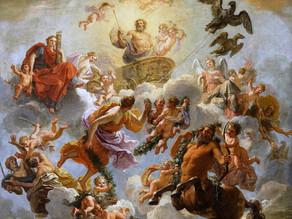 Décorations célestes au château de Versailles