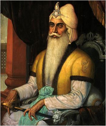 Portrait de Jai Singh II.