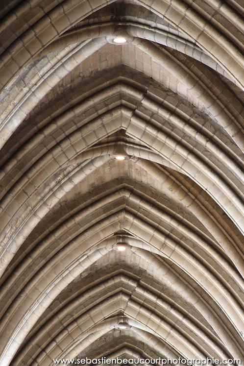 Voûtes de la cathédrale de Reims