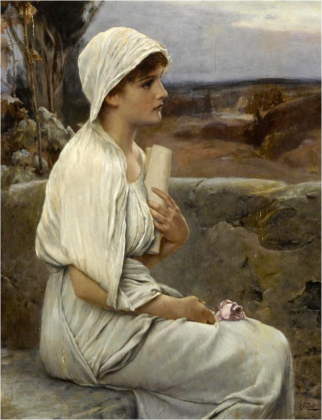 Hypatie par Alfred Seifert (1901)