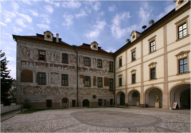 Le chateau de Benatek