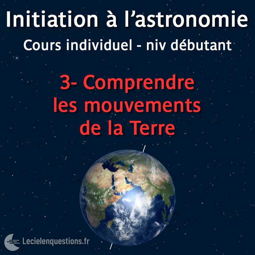3-Comprendre les mouvements de la Terre