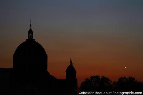 Sainte Clotilde et planètes