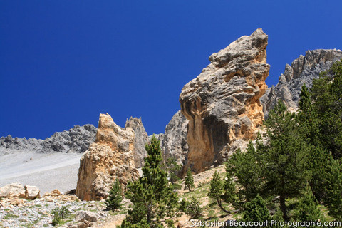 Col de l'Izoard, la Casse déserte