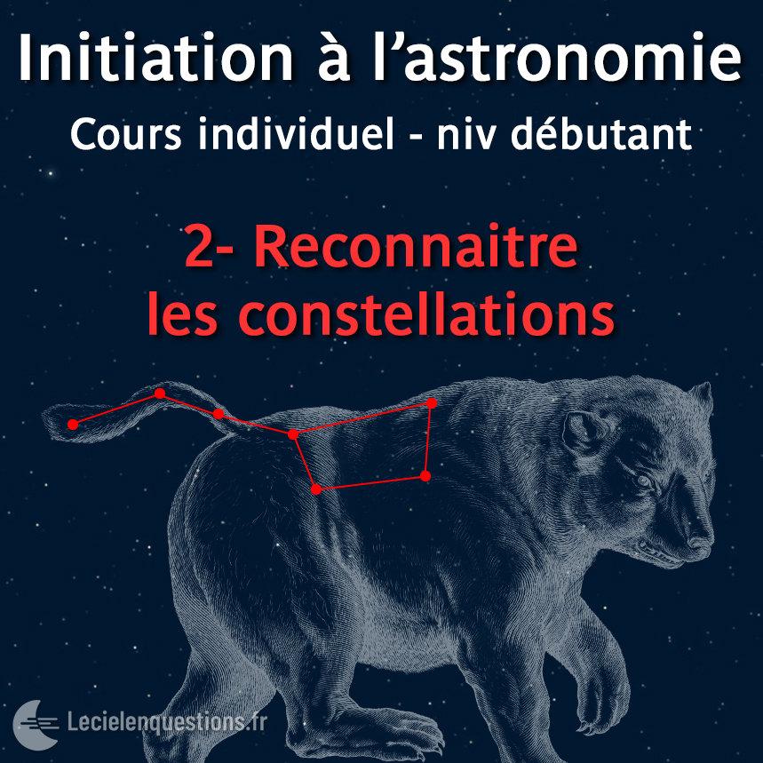 2-Reconnaitre les constellations