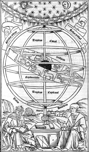 Frontispice de l'Epitome de Regiomontanus