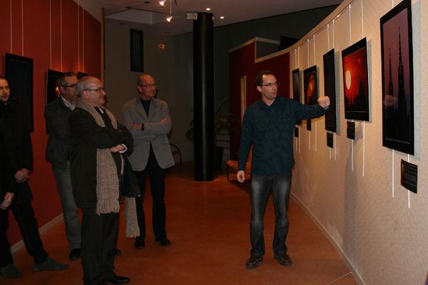 Exposition Paysages célestes en Champagne, photographies de Sébastien Beaucourt, présentée au Phare de Verzenay, musée de la vigne.
