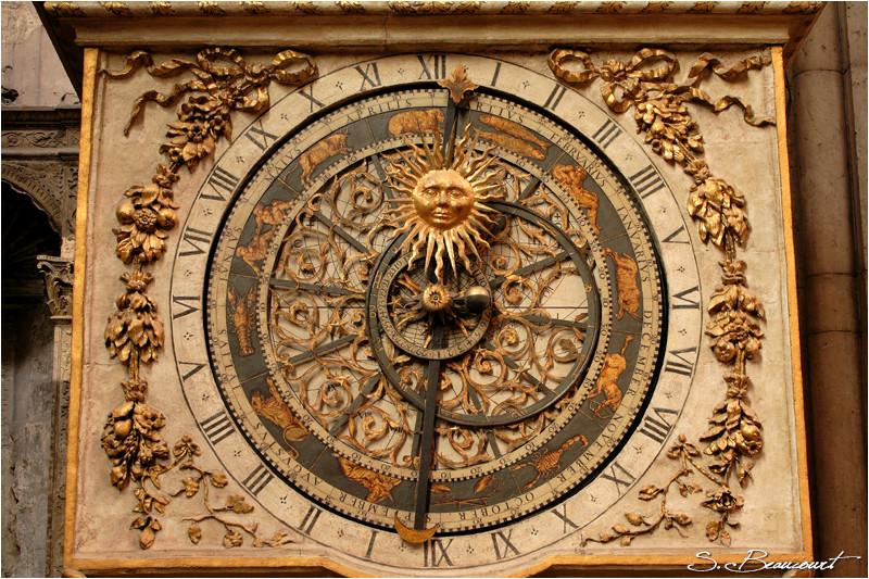 Astrolabe de l'horloge astronomique de Lyon