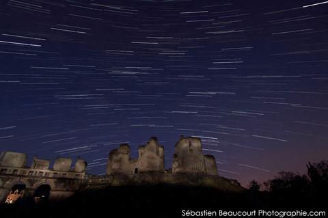 Filé d'étoiles, chateau de Fère en Tardenois