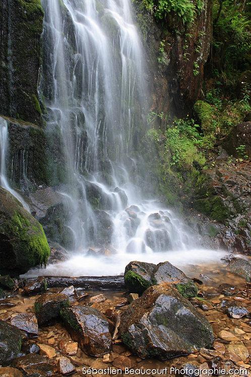 Grande cascade de Tendon (Vosges)