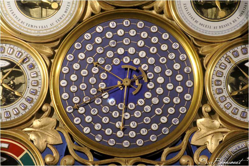 Comput ecclésiastique de l'horloge astronomique de Beauvais