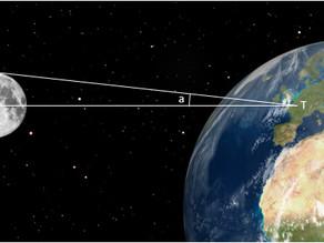 Comment calculer la distance Terre-Lune ?