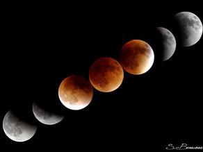 Pourquoi la Lune devient-elle rouge pendant une éclipse de Lune ?