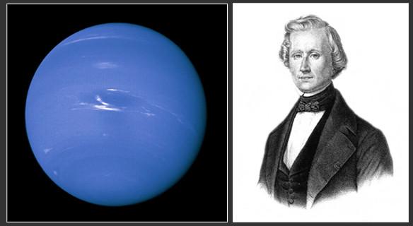 Neptune et Le Verrier