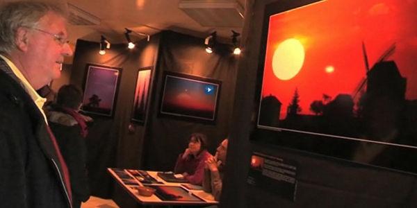 Exposition Paysages célestes en Champagne, photographie de Sébastien Beaucourt, Festival de Montier-en-Der