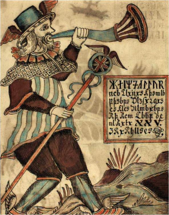 Heimdall, dieu scandinave de la lumière.