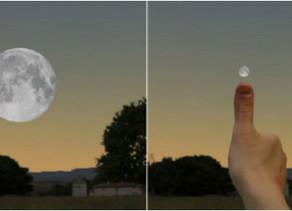 Pourquoi la Lune nous apparaît-elle plus grande lorsqu'elle se situe sur l'horizon ?