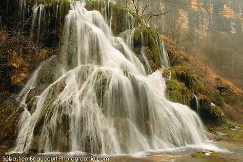Cascade de Baume-les-Messieurs (Jura)