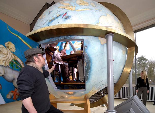 Le Globe céleste de Gottorf