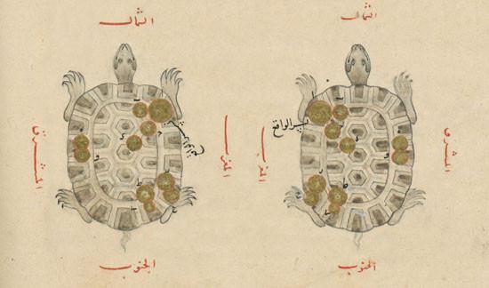 Constellation de la Lyre dans l'atlas d'al Sufi