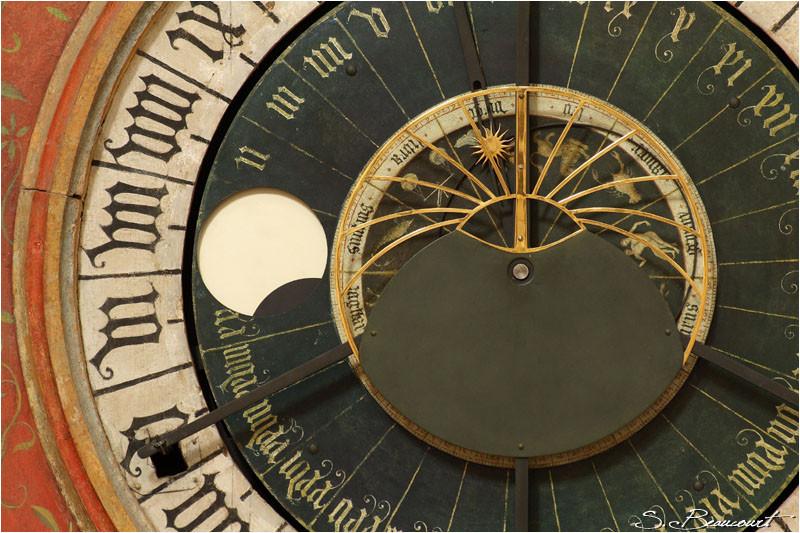 Astrolabe de l'horloge astronomique de Bourges