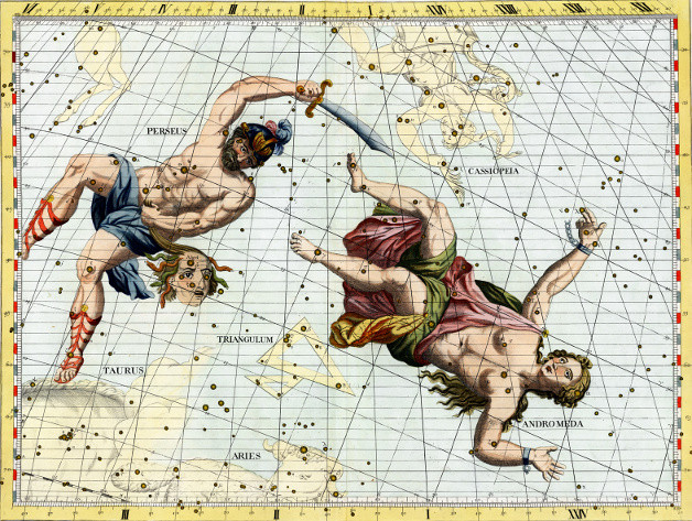 Atlas céleste de Flamsteed