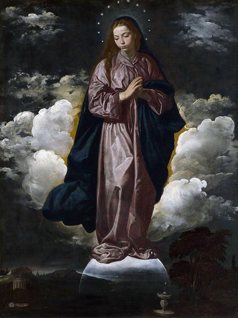 L'Immaculée Conception peinte par Velazquez