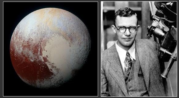 Clyde Tombaugh et Pluton