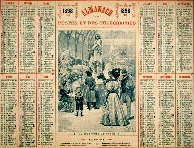 Almanach de l'année 1898