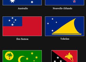 L'astronomie sur les drapeaux des pays