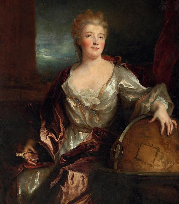 Portrait d'Emilie du Châtelet, par Nicolas de Largillière