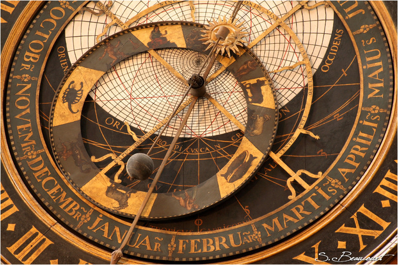 Horloge astronomique de Saint Omer