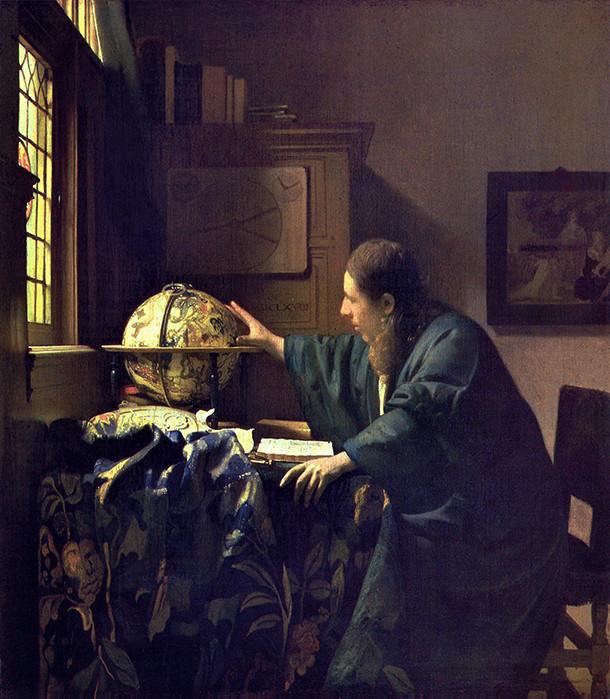 L'Astronome de Vermeer