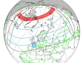 Eclipse de Soleil du 10 juin 2021