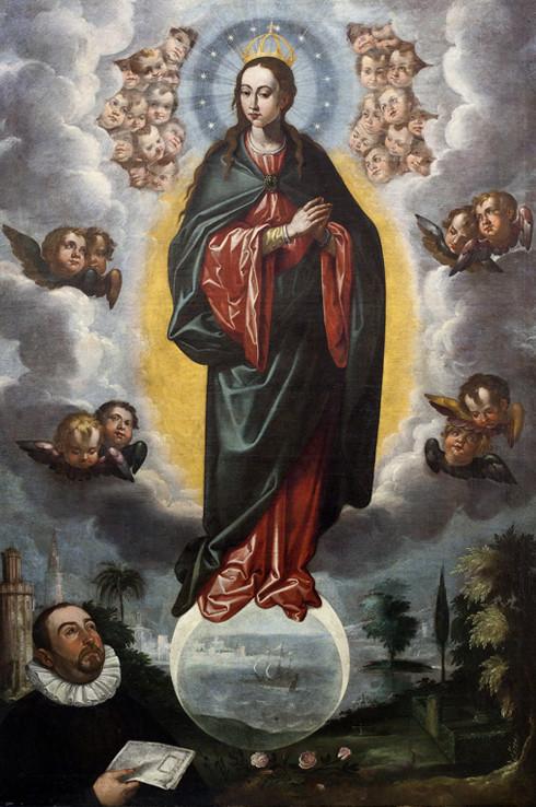 L'Immaculée Conception peinte par Francisco Pacheco