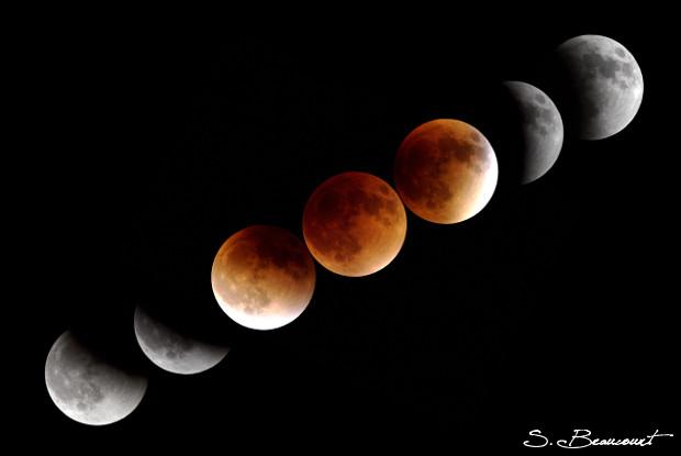 Eclipse totale de Lune du 28 septembre 2015