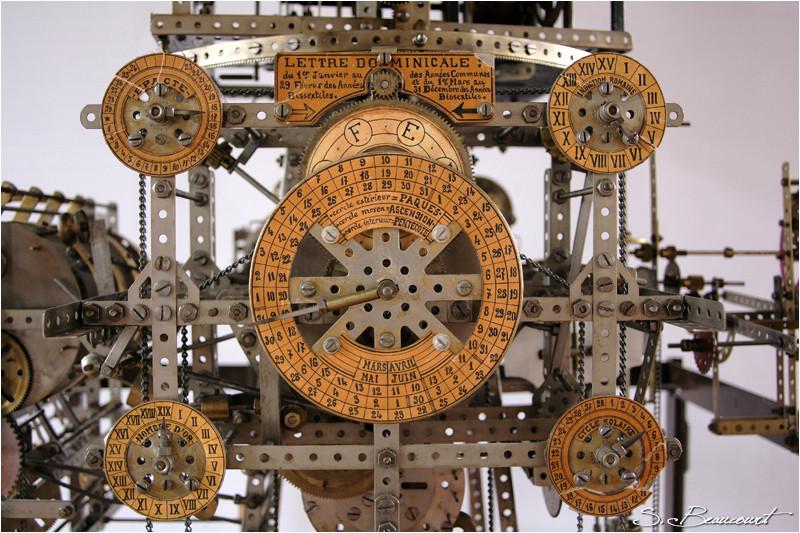 Conput ecclesiastique de l'horloge astronomique de Reims.