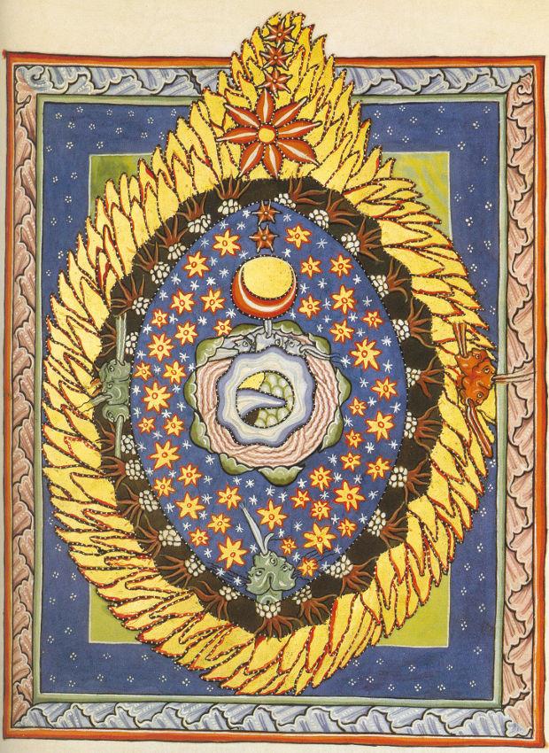 Le cosmos selon Hildegarde de Bingen