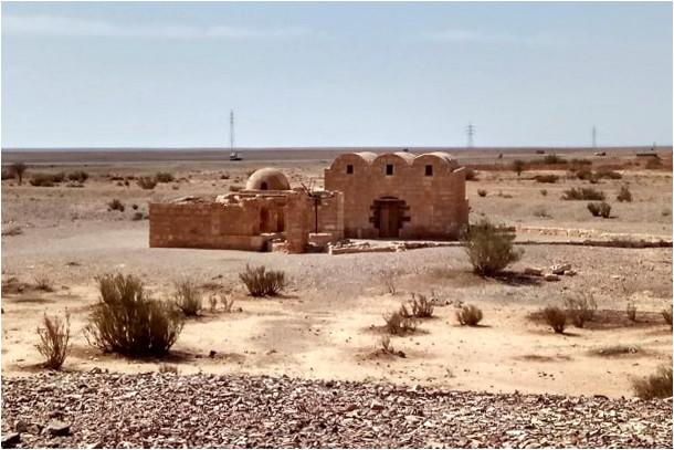 Le chateau de Qusayr Amra, au coeur du désert jordanien