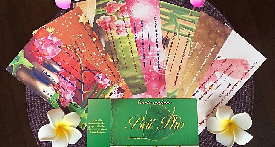 Massage Meudon | Bai Pho | Cartes cadeaux