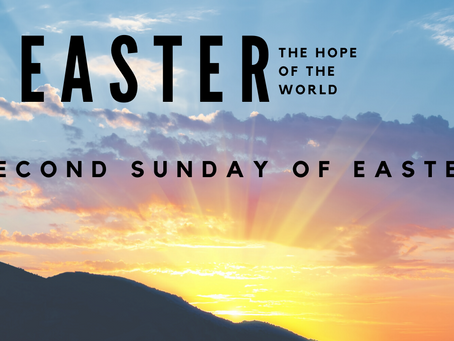 Self-Guided Liturgy: Second Sunday of Easter