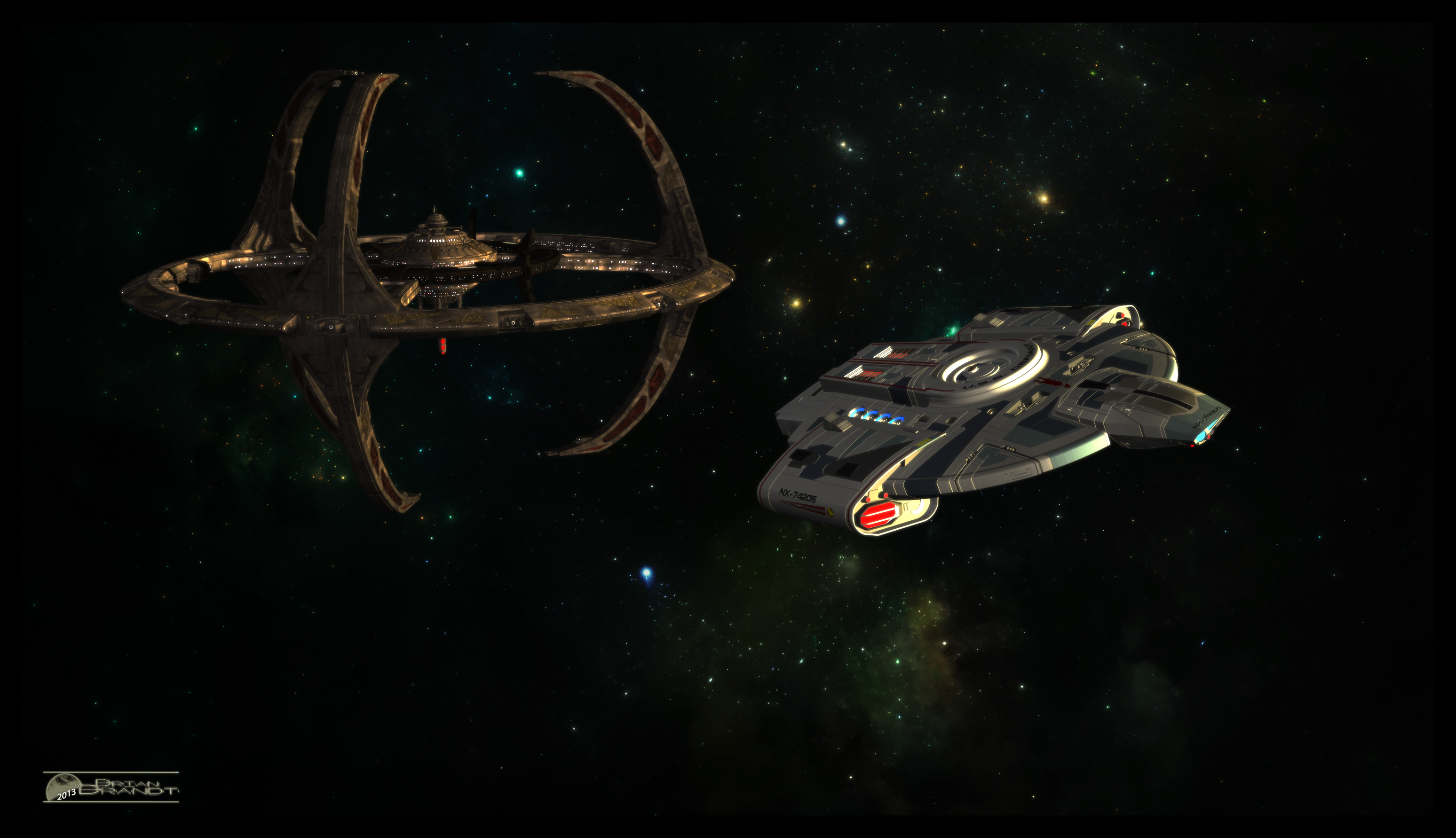 defiant_departing_ds9_by_mototsume-d6xv9k8