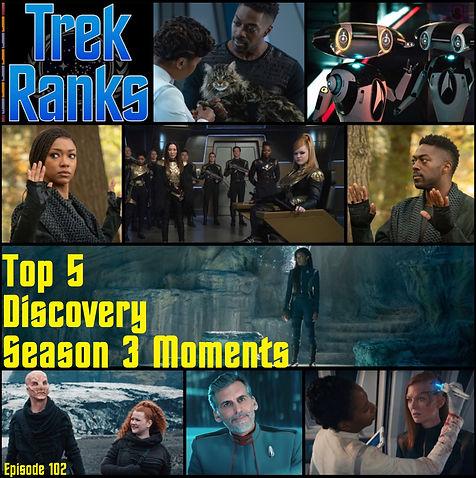 TrekRanks Episode 102 - Discovery Season
