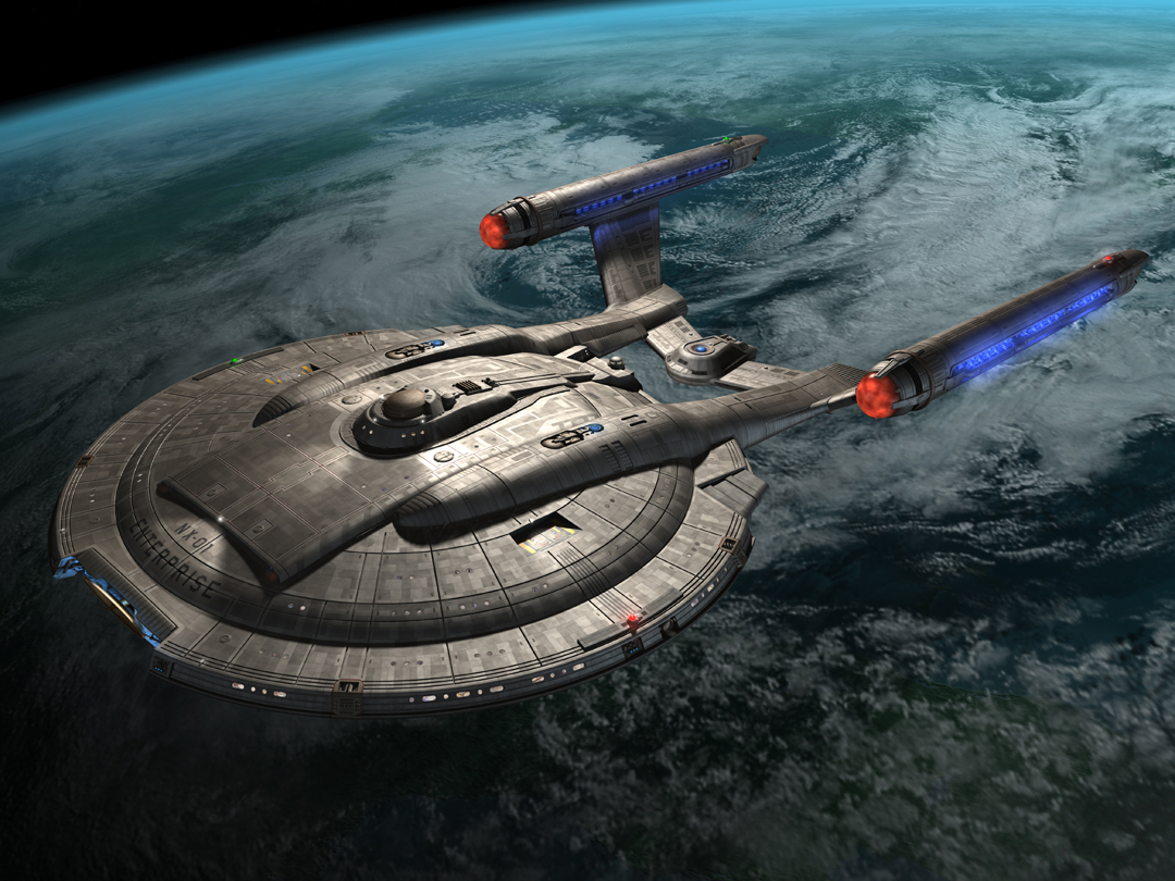 Drex Files Enterprise NX-01 Earth