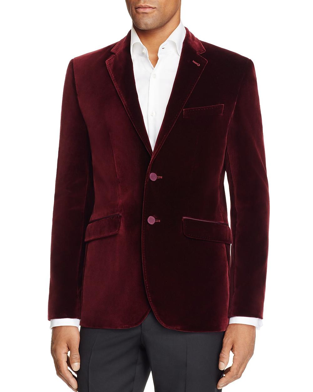 Ted Baker Velvet Sportcoat