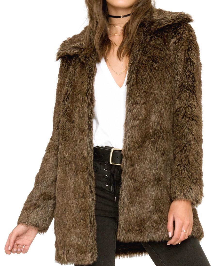 Cam Faux Fur Jacket